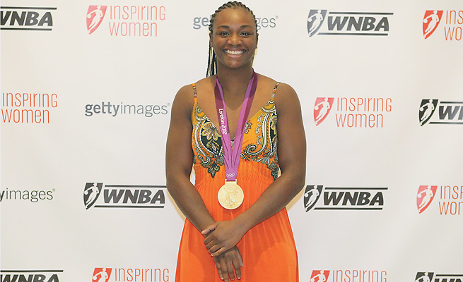 Invitations to events like the WNBA Inspiring Women Luncheon have come and gone for Claressa Shields as her Olympics spotlight has dimmed.