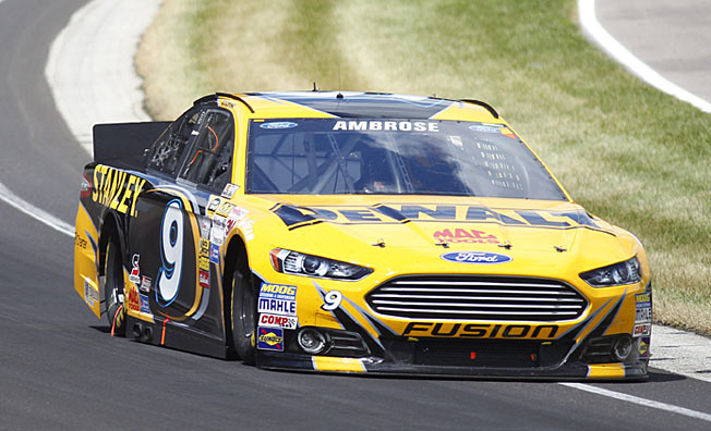 Comfortable with the track, Marcos Ambrose is the driver to beat at Watkins Glen.