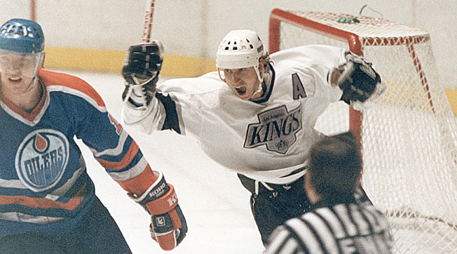 Wayne Gretzky haunted his former team by leading his Kings past the Oilers in their first playoff series.