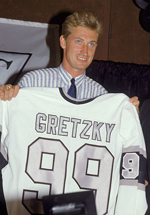 Gretzky brought an entirely new look and reality to the Los Angeles Kings.