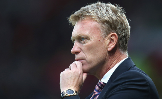 David Moyes has his first chance at hardware with Manchester United at Sunday's Community Shield.