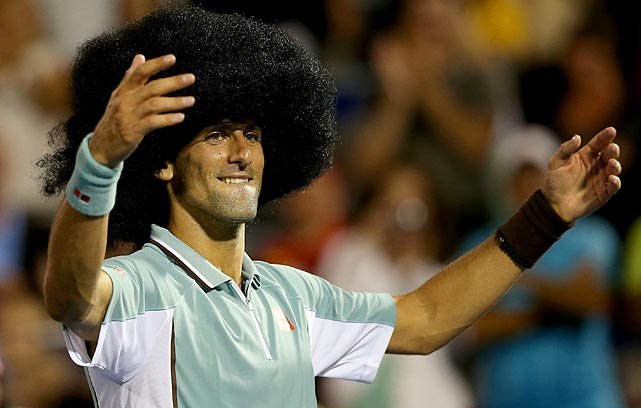 Novak Djokovic of Serbia donned a wig and danced for the crowd after defeating Denis Istomin of Uzebekistan during the Rogers Cup on Aug. 8 in Montreal. He's not the only athlete who knows how to have fun, as this gallery so accurately reflects.