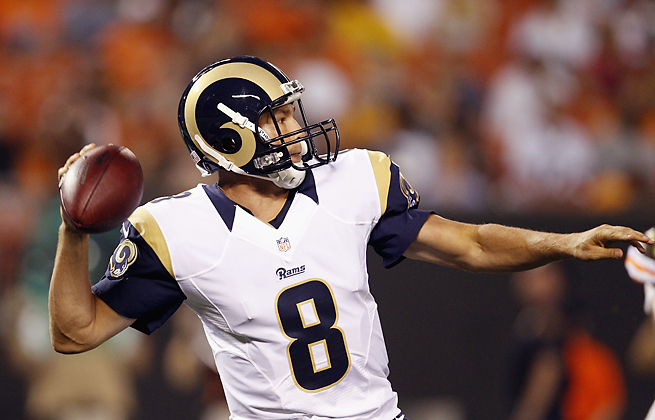 After throwing for 3,702 yards in 2012, Sam Bradford has been given a handful of new weapons.