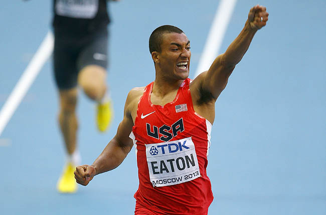 Eaton clocked 46.02 seconds to run the fastest decathlon 400 ever at a world championships.