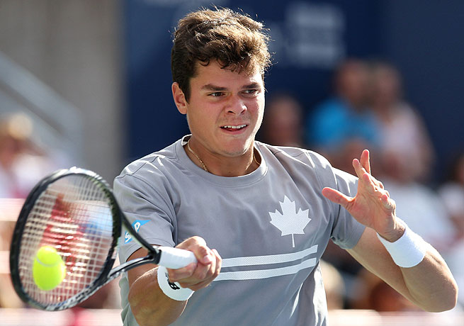 Milos Raonic is attempting to become the first Canadian to win the Rogers Cup since 1958.