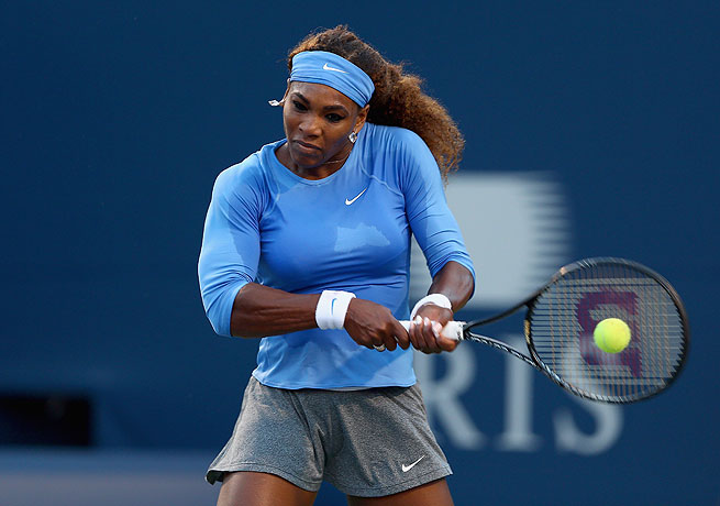 Serena Williams fought through medical issues to overcome Agnieszka Radwanska in Toronto.