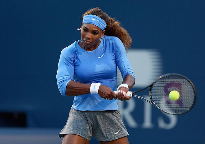 Serena Williams fought through medical issues to overcome Agnieszka Radwanska in Toronto.