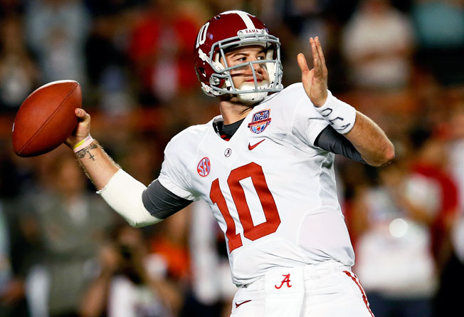 Quarterback AJ McCarron and Alabama will look to capture their third consecutive national title in 2013.
