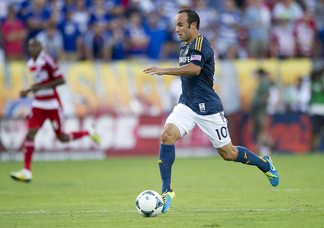 Landon Donovan gave Los Angeles a late lead that it could not hold onto against FC Dallas.