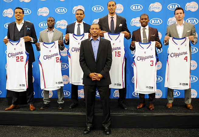 Doc Rivers is front and center in the Clippers' plans to contend for a championship this season.