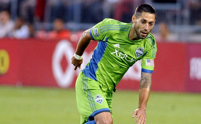 Clint Dempsey made his debut with the Seattle Sounders on Saturday.