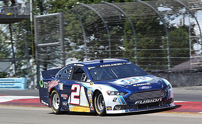 Brad Keselowski is one of three winless drivers in the top 10 of the Sprint Cup points standings.