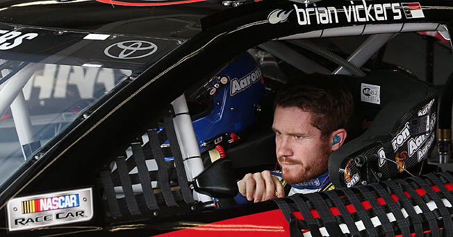 Brian Vickers has been on a self-described rollercoaster ride in recent years.