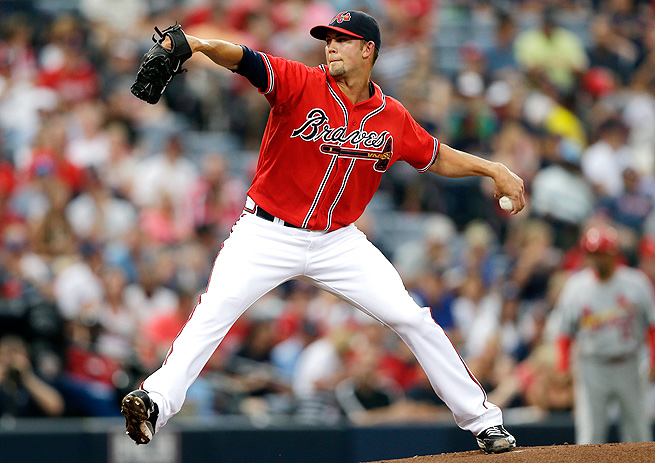 Mike Minor has improved his strikeout and walk rates, and his home-run/fly-ball ratio this season.