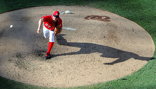 Though mostly overshadowed by other Nationals starters, Jordan Zimmermann has been one of the NL's best this year.