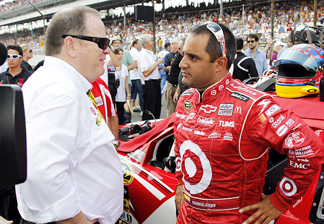 After a hopeful start, Chip Ganassi (left) did not get the results he expected from Juan Pablo Montoya.