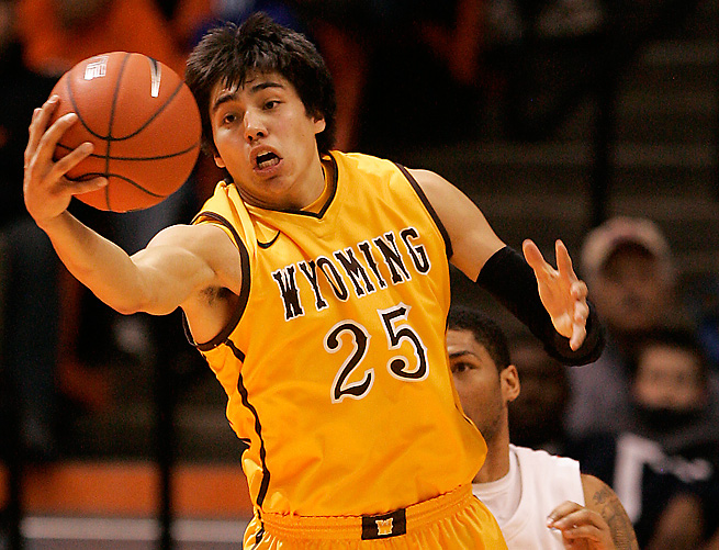 Wyoming's Luke Martinez will serve jail time after pleading guilty to his role in a bar fight.