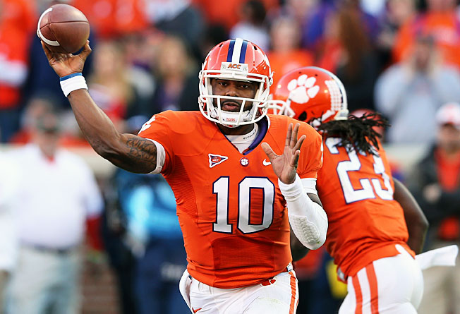 Quarterback Tajh Boyd led a Clemson offense that averaged more than 512 yards per game last season.