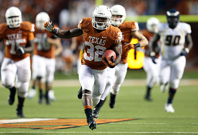 Johnathan Gray is part of a trio of talented Texas running backs who have had trouble staying healthy.
