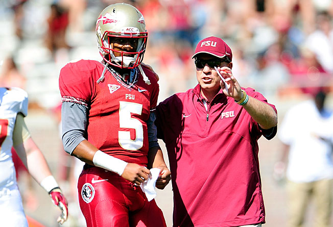 Redshirt freshman QB Jameis Winston turned heads at Florida State with his performance this spring.