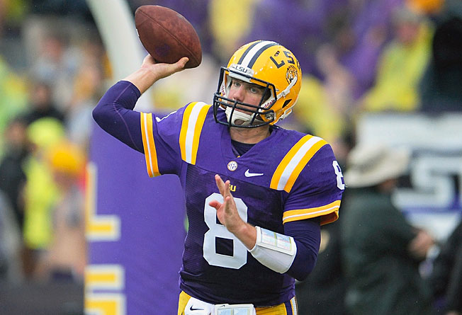 After an inconsistent 2012 season, LSU's Zach Mettenberger will look to stabilize a team in transition.