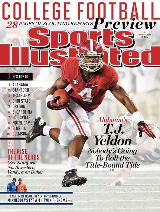 <italics> SI</italics> has six regional covers this week for its College Football preview.
