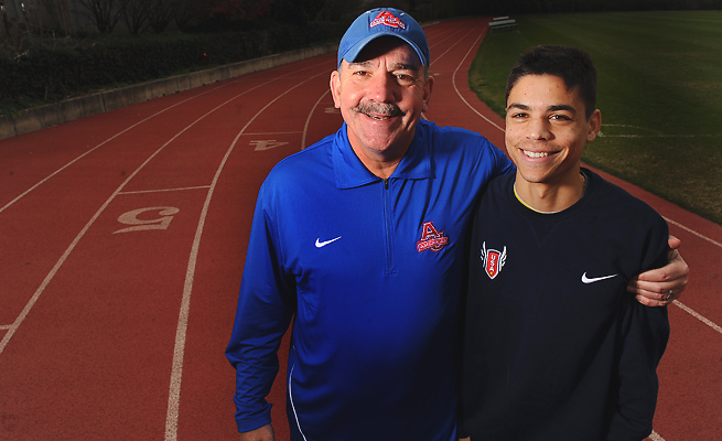 After an Olympic boycott denied his father a chance to run in the 1980 Olympics, Matthew Centrowitz took to the same Russian track for the 2013 IAAF World Championships.