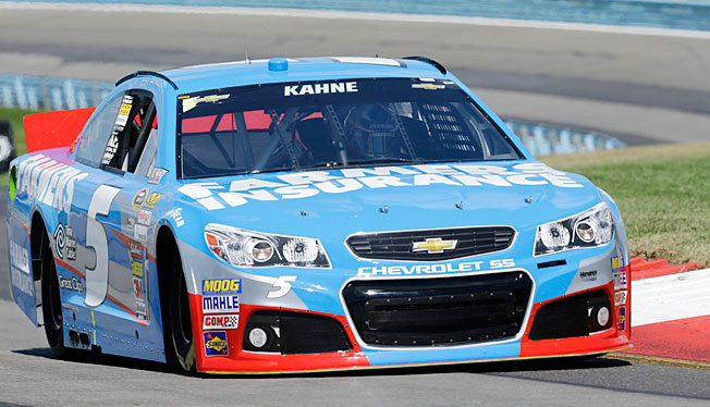 Kasey Kahne is now 12th in the Sprint Cup points after a 34th-place finish at Watkins Glen.