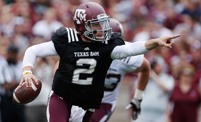If the NCAA declares Johnny Manziel ineligible, a state law could allow Texas A&M to seek damages from the autograph brokers.