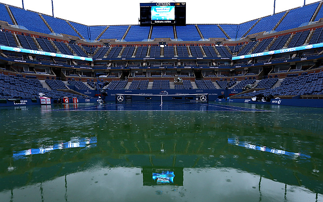 With the planned roof, there will no longer be any rain delays to matches held on Arthur Ashe Stadium.