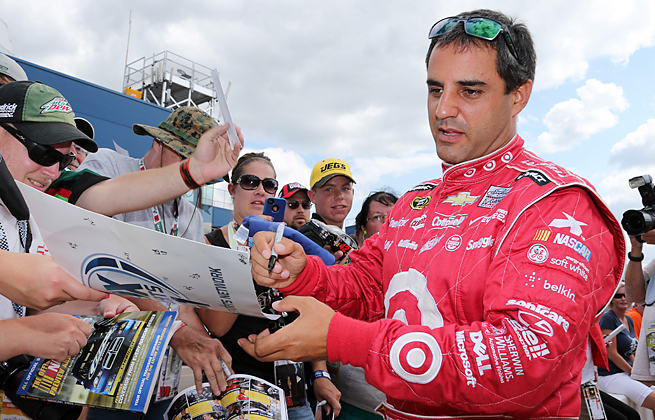 Juan Pablo Montoya's parting with Chip Ganassi has left his future in NASCAR in doubt.