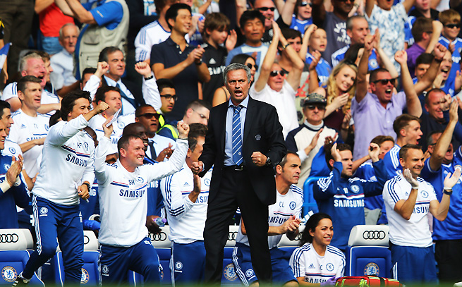 Chelsea played a tremendous game in Jose Mourinho's return to Stamford Bridge.