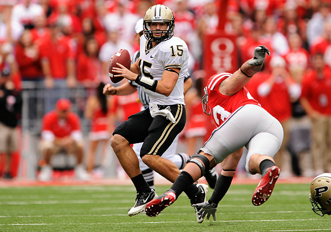 Rob Henry has endured an up-and-down career as a quarterback at Purdue.
