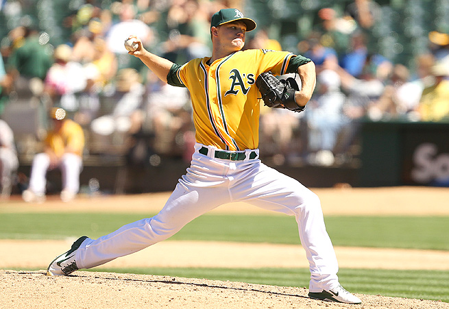 Since joining Oakland's starting rotation, Sonny Gray has given up just two runs in 18 innings pitched.