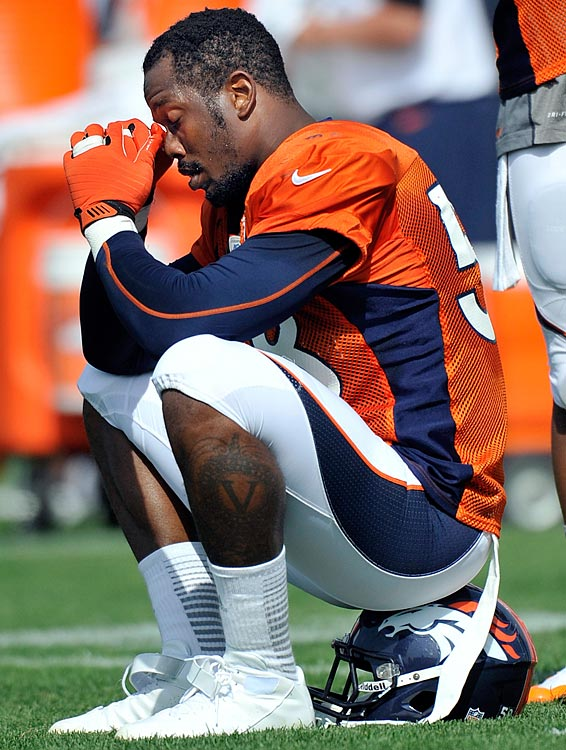 The Broncos outside linebacker was suspended on Aug. 20 for the first six games of the 2013 NFL season for violations of the league's substance-abuse policy.