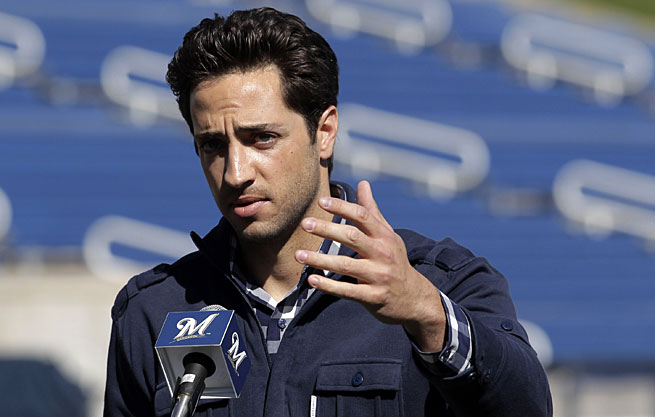 Ryan Braun failed a drug test in 2011 only to have his suspension overturned by an arbitrator.