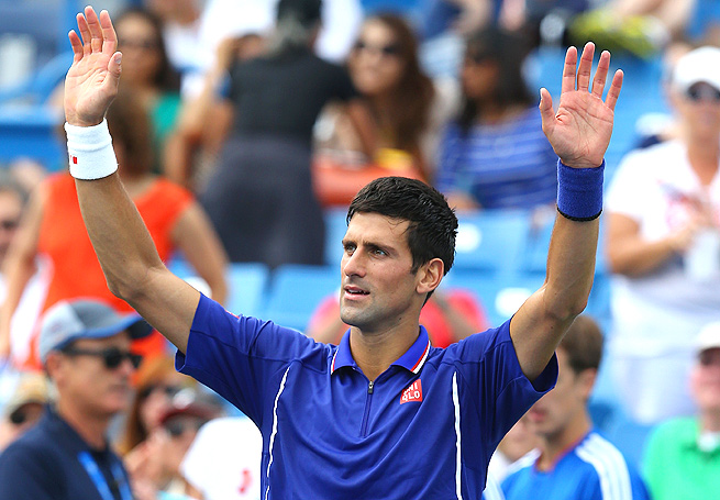 Novak Djokovic, currently ranked No. 1 in the world, earned the top seed for the upcoming U.S. Open.