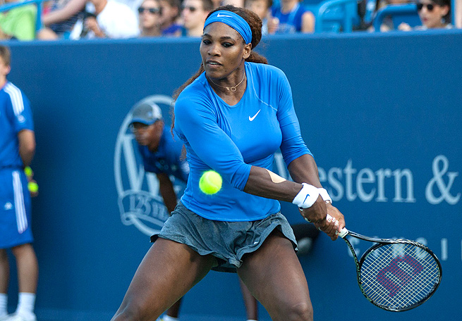 Serena Williams, who lost to Victoria Azarenka in the finals in Cincinnati, will have the No. 1 seed at the U.S. Open.