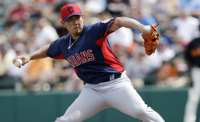 Finally healthy, Daisuke Matsuzaka was unable to find room the Indians rotation this season.