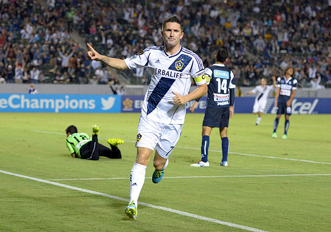 Robbie Keane played the hero as the Galaxy won their CONCACAF Champions League opener.