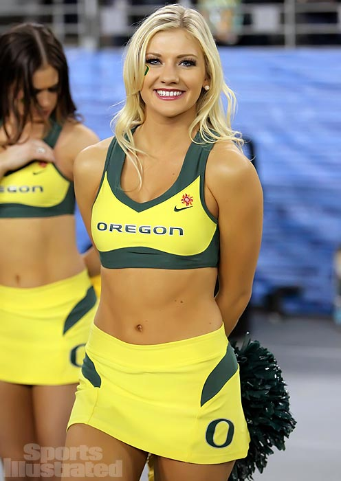 Meet Stephanie, a cheerleader for the University of Oregon who loves Breaking Bad, wants to be friends with Zooey Deschanel and hopes to travel the world. Read more in her Extra Mustard profile.