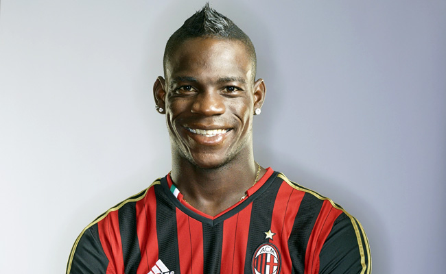 Mario Balotelli joined AC Milan in January after playing for Manchester City for two-and-a-half seasons.