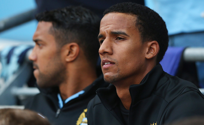 Scott Sinclair started only two Premier League games for Manchester City last season.