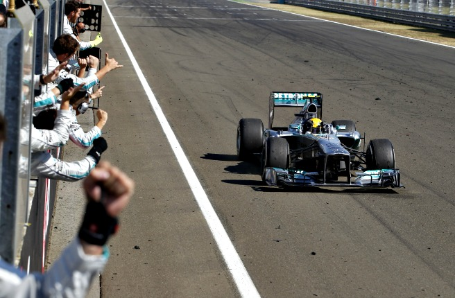 Lewis Hamilton's win in Budapest showed a marked improvement in his car's consistency.