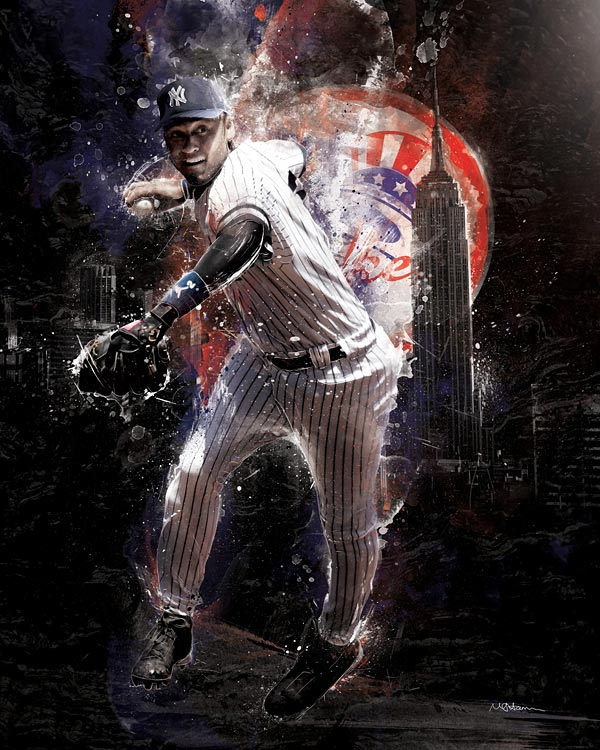 RareInk, an official art partner of the NBA and MLB, has just released their initial baseball collection which features modern artwork from a pool of emerging global artists and celebrates the game's top legends and current stars. The cutting-edge works, which range in style from street art to ultra-realism, are available in limited edition fine art prints and canvases. For more information, visit RareInk.com. In the meatime, SI presents some of the best pieces from the collection.