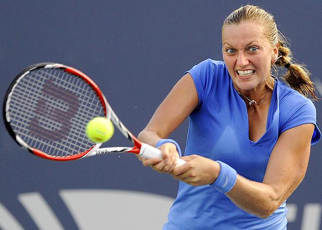 Petra Kvitova, seeded No. 7 at the U.S. Open starting next week, topped Anastasia Pavlyuchenkova 2-6, 6-2, 7-5.