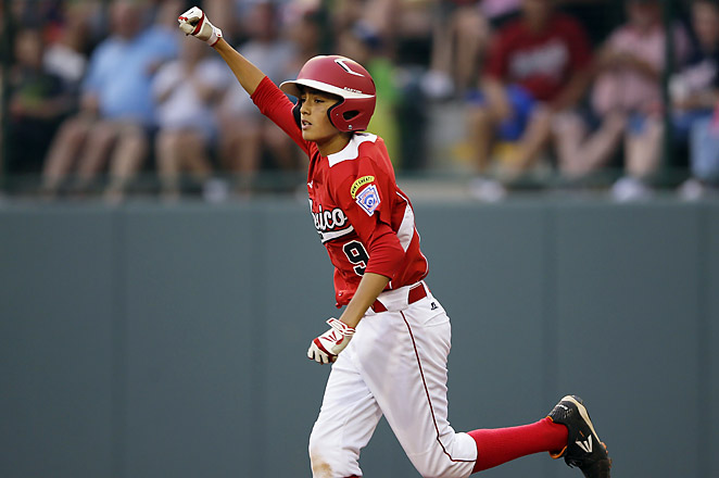 Mexico's Jorge Romero hit a two-run homer in the top of the seventh to lead his team to victory.