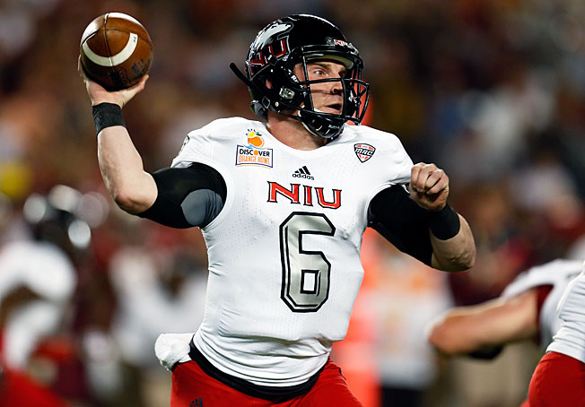 Quarterback Jordan Lynch will look to lead Northern Illinois to its third consecutive MAC title in 2013.