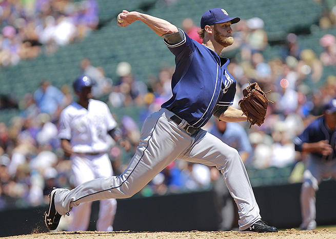 Andrew Cashner gave up just one earned run in seven innings in his last start against the Pirates.