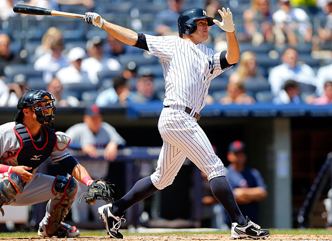 Brett Gardner has hit 23 home runs in 600 career games but that's a Ruthian total among recently drafted Yankees.